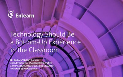 Technology Should Be a Bottom-Up Experience in the Classroom